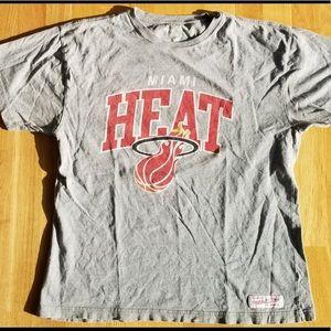 Mitchell & Ness Miami Heat T-Shirt